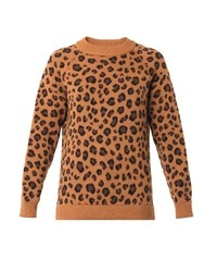 Tak ori cortina leopard knit sweater medium 535745
