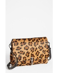 Mini leopard print calf hair crossbody bag medium 293962
