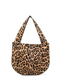 P.A.R.O.S.H. Leopard Large Shoulder Bag