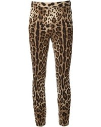 Tan Leopard Leggings