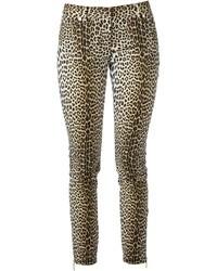 Emanuel leopard print jeans medium 13088