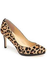 Sophia calf hair platform pump medium 149146