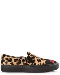 Leopard print sneakers medium 66271