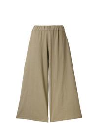 Labo Art Wide Leg Cropped Pants