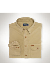 Tan Long Sleeve Shirt