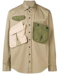 DSQUARED2 Multi Pocket Military Shirt