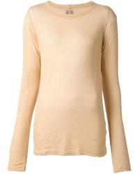 Tan Long Sleeve T-shirt