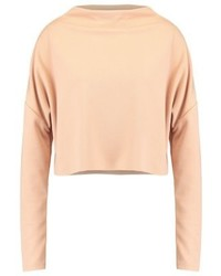 Missguided Long Sleeved Top Nude