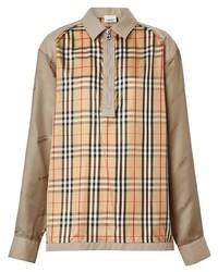 Burberry Seam Detail Vintage Check Shirt