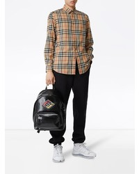 Burberry Vintage Check Cotton Flannel Shirt