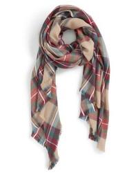 Plaid blanket scarf medium 876901