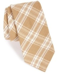 Ike Behar Plaid Wool Blend Tie