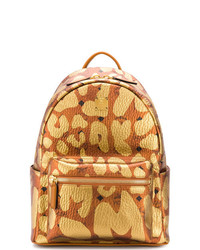 MCM Backpack In Leopard Print