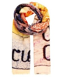Four side with long fringes scarf laos medium 4138762
