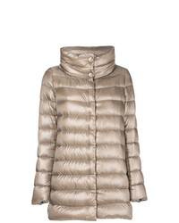 Herno Funnel Neck Padded Coat