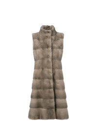 Liska Padded Fur Coat