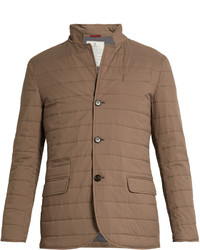 Tan Quilted Blazer