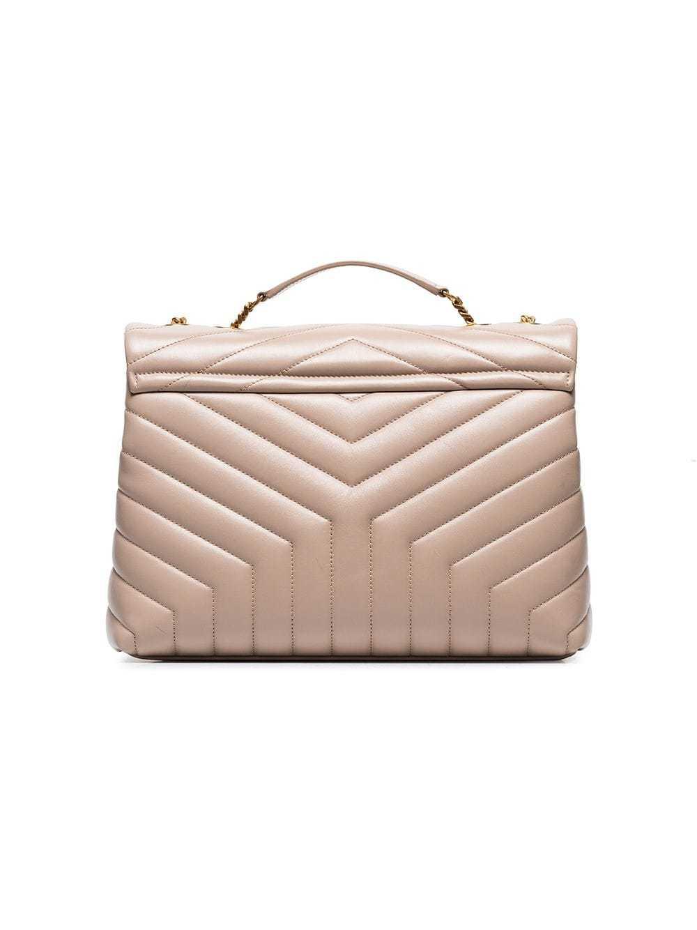 96cbe388eb Saint Laurent Nude Lou Lou Medium Quilted Leather Shoulder Bag ...