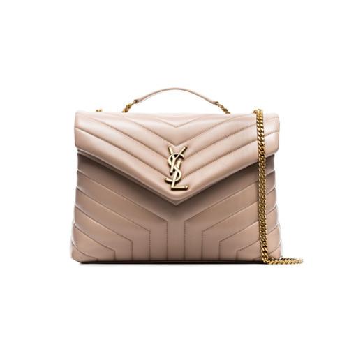 98b26e2e9f ... Saint Laurent Nude Lou Lou Medium Quilted Leather Shoulder Bag ...