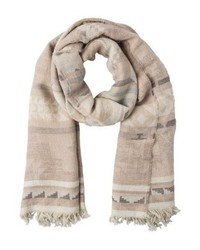 Beacon scarf oatmealseafoam medium 4139124