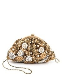 Beaded sequin clutch medium 17904