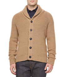 Tan Shawl Cardigan