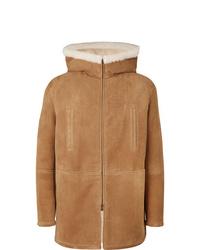 Tan Shearling Coat