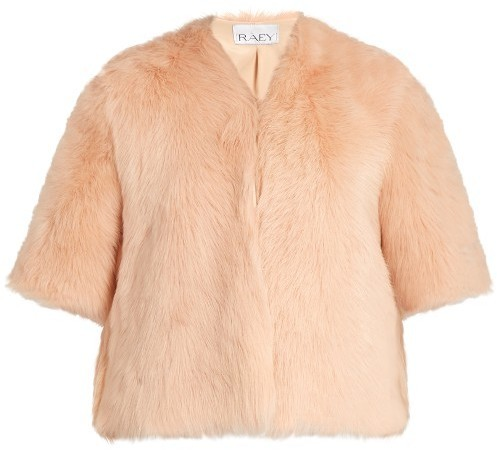 Raey Ry Short Shearling Coat