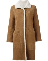 Shearling coat medium 775273