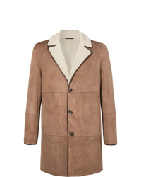 Loro Piana Wollaston Shearling Coat