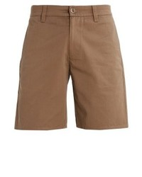 Brixton Carter Shorts Dark Khaki