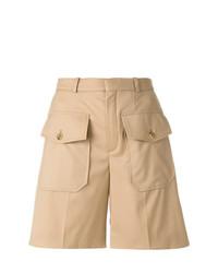 Chloé Double Flap Pocket Shorts