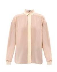 Stella McCartney Bi Colour Silk Blouse