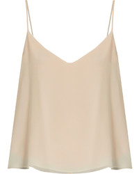 Raey Ry Deep V Neck Silk Cami Top