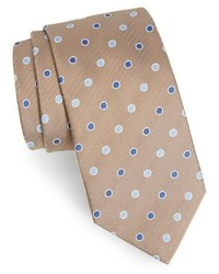 David Donahue Dot Silk Tie