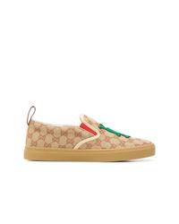 Gucci La Patch Slip On Sneakers