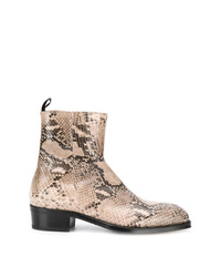 Alexander McQueen Zipped Ankle Boots