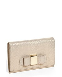 Ivanka Trump Blair Snake Embossed Clutch