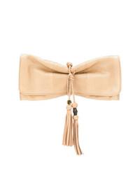 Gucci Tassel Trimmed Pochette Clutch