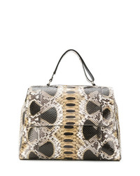 Orciani Flap Tote Bag