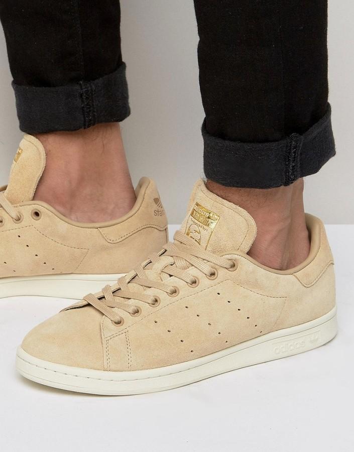 f0dc95fc3bd ... adidas Originals Stan Smith Sneakers In Beige Bb0039 ...