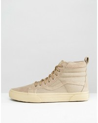 vans sk8-hi mte sneakers in beige