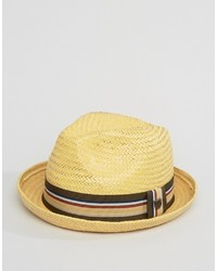 Castor fedora straw hat medium 3664497