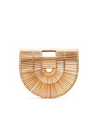 Cult Gaia Brown Ark Large Bamboo Bag