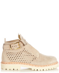 King perforated suede ankle boots medium 1148663