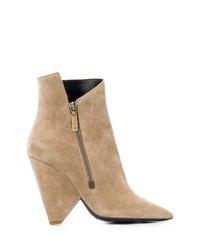 Saint Laurent Niki Ankle Boots
