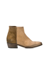 Strategia Two Tone Ankle Boots