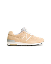 Tan Suede Athletic Shoes