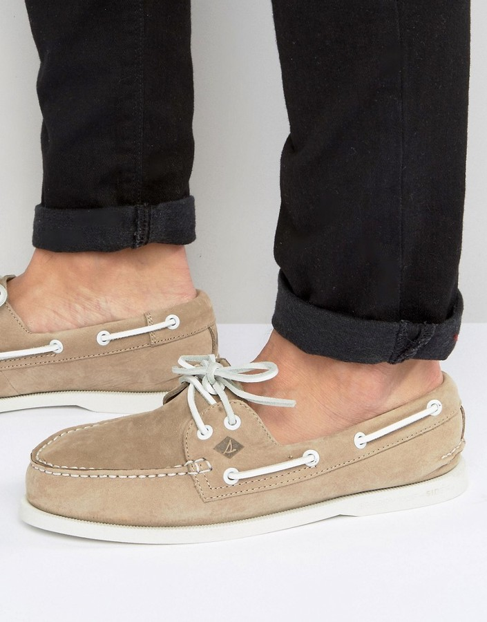 6a4d90a352e £83, Sperry Topsider Suede Boat Shoes