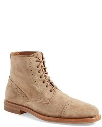 Aquatalia Carter Weatherproof Cap Toe Boot